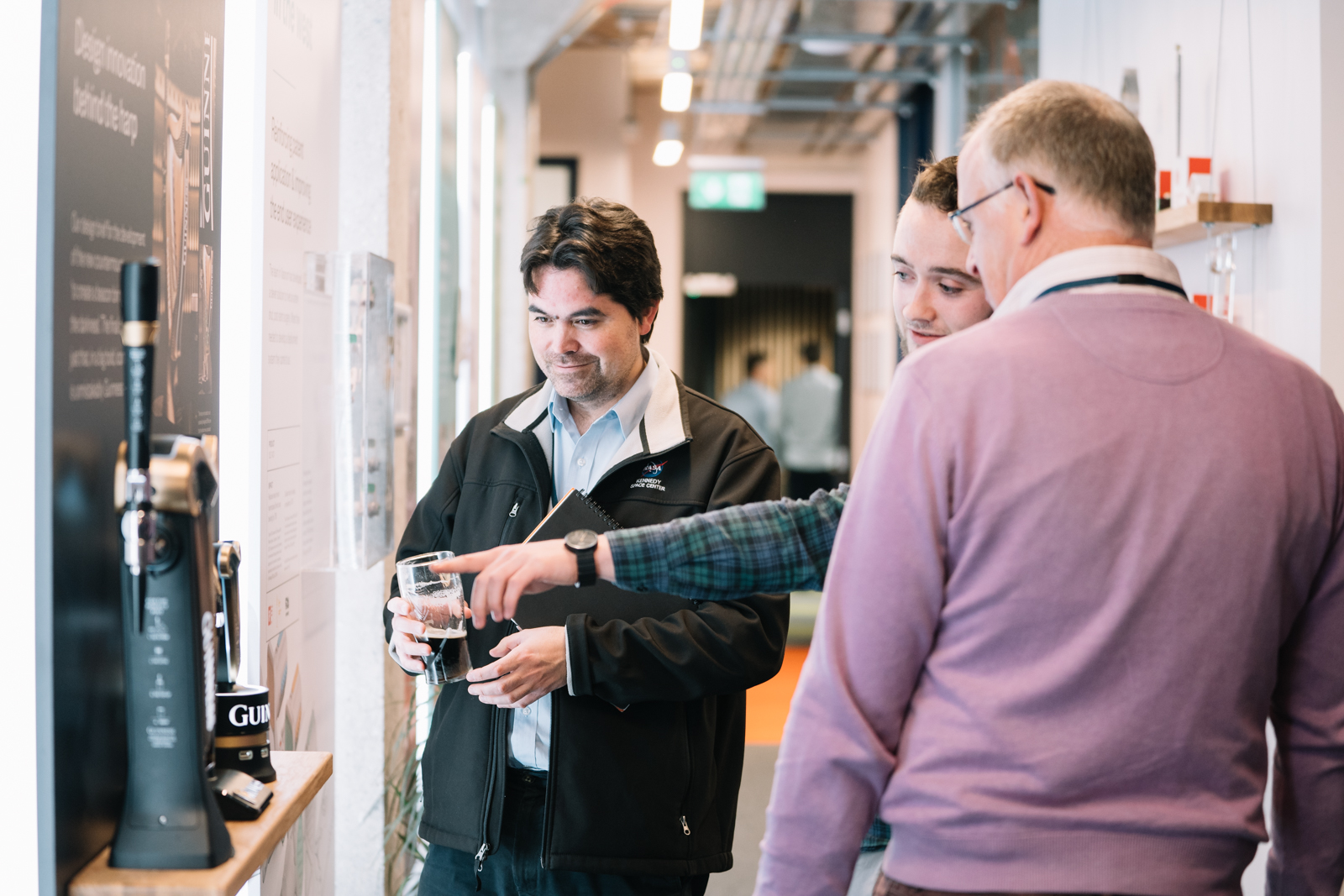 Guinness, Harp, Product Design Studio demonstration